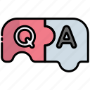 puzzle, question, answer, faq, help, support, service