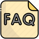 faq, help, question, support, ask, information, service