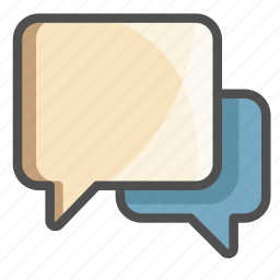 chat, connected, conversation, hello, message, speak, text icon