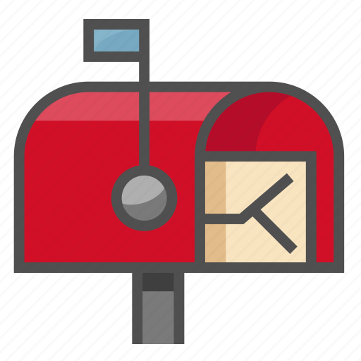 letter, mail, post, postbox, unopened, unread, you've got mail icon