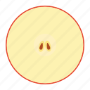 apple, food, fresh fruit, fruit, health, health eating, vitamins icon