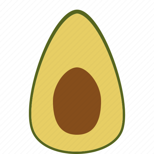Avocado, food, fruit, health, tropical fruit, vitamins icon - Download on Iconfinder