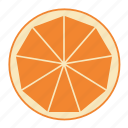 cocktail, drink, fruit, health, orange, tropical fruit, vitamins icon