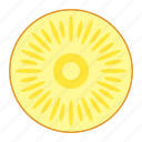 ananas, annanas, fresh fruit, fruit, pineapple, tropical food, tropical fruit icon