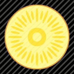ananas, annanas, fresh fruit, fruit, pineapple, tropical food, tropical fruit icon