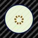 blueberry, fresh, fruit icon