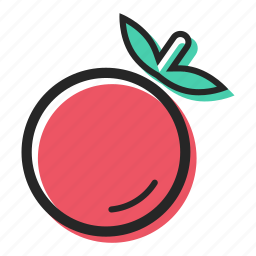 field, food, healthy, juice, salad, tomato, vegetable icon
