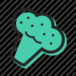broccoli, cook, food, garden, pizza, salad, vegetable icon