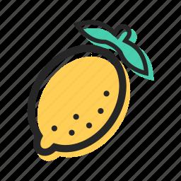 food, fruit, health, juice, lemon, tasty, tropical icon