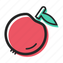 apple, avenue, fruit, healthy, juice, sweet, yogurt icon