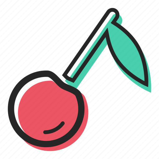 avenue, cherry, food, fruit, juice, sweet, yogurt icon