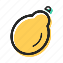 food, fruit, health, juice, papaya, tasty, tropical icon