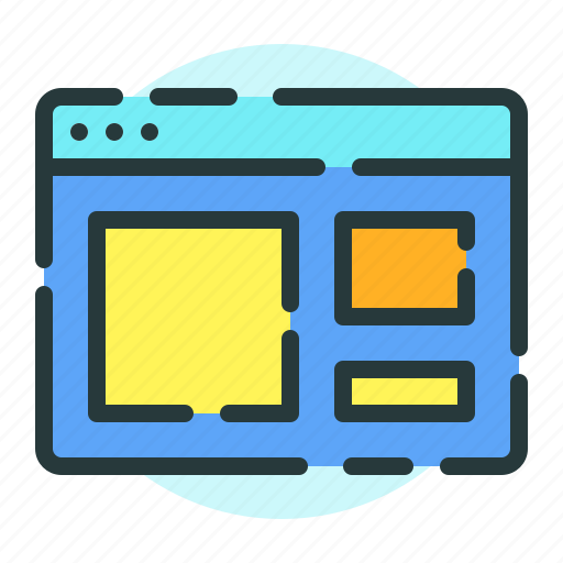 browser, magnifying, marketing, search, website icon