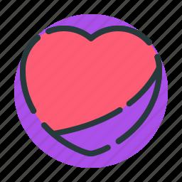 health, heart, road, romantic, sign icon
