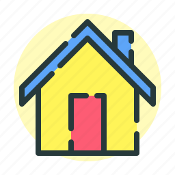 construction, home, household, hut icon