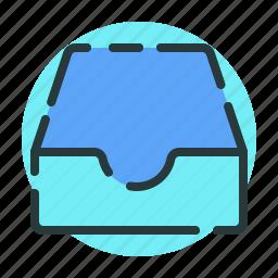 direction, download, inbox, orientation, pointer icon
