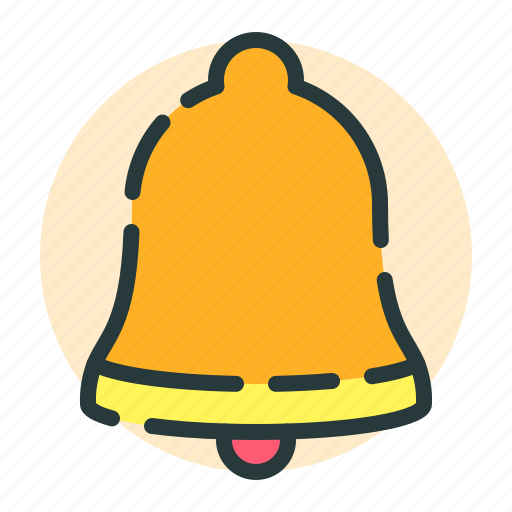 bell, building, notification, school, work icon