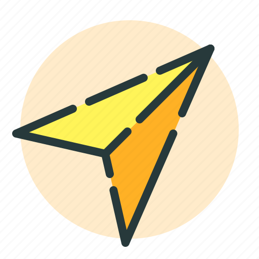 airplane, documents, office, paper, work icon