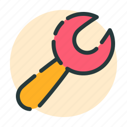 cog, configuration, control, music, setting, wrench icon