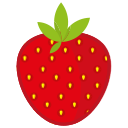 berry, breakfast, food, fruit, ice, snow, stick icon