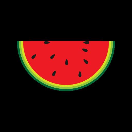 breakfast, cream, eating, food, fruit, ice, watermelon icon