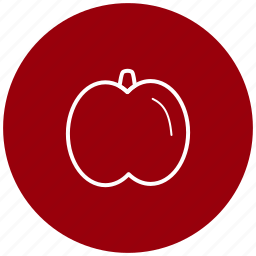 apple, component, food, fruit, ingredient icon