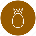 component, food, fruit, ingredient, pineapple icon