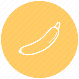 banana, component, food, fruit, ingredient icon