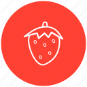 component, food, fruit, ingredient, strawberries icon