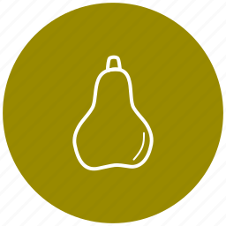 component, food, fruit, ingredient, pear icon