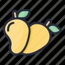 mango, food, fruit, juicy, tropical fruit