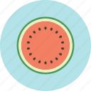 food, fruit, nature, plant, seed, sweet, watermelon icon