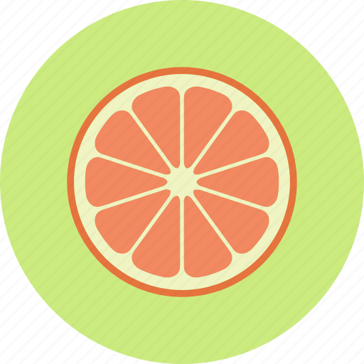 citrus, food, fruit, grapefruit, plant icon