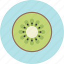 food, fruit, kiwi fruit, plant, seed icon