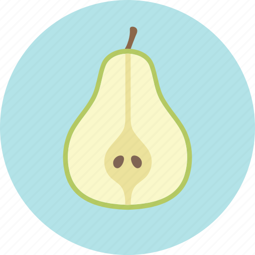 food, fruit, pear, plant, seed icon