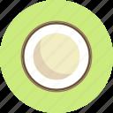 coconut, food, fruit, plant icon