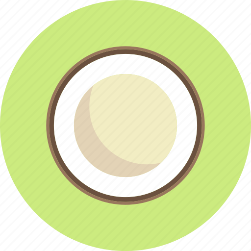 coconut, food, fruit, plant icon