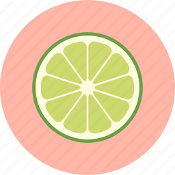 citrus, food, fruit, green, lime, plant icon
