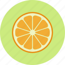 citrus, food, fruit, mandarin, orange, plant, tangerine icon