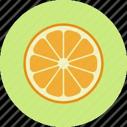 citrus, food, fruit, mandarin, orange, plant, tangerine icon