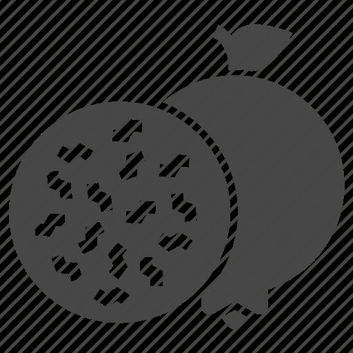 fruit, granate, pomegranate icon