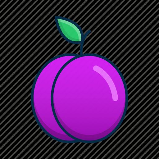 Blue, food, fruit, plum icon - Download on Iconfinder