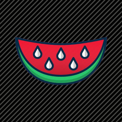 Dessert, food, juicy, sweet, watermelon icon - Download on Iconfinder