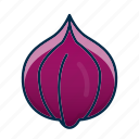 food, garlic, vegetable icon