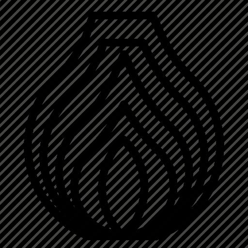 onion, slice icon
