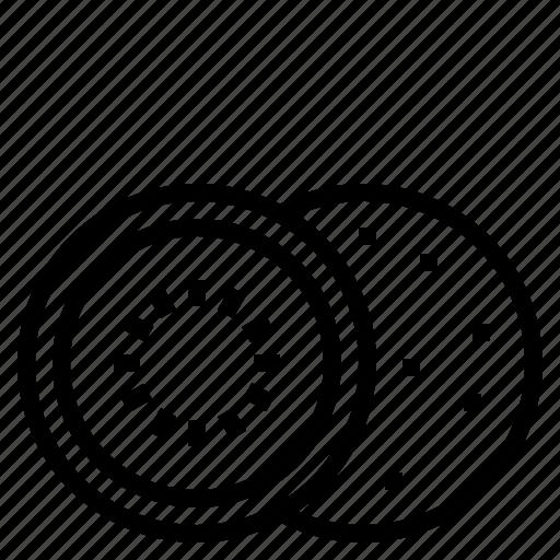 kiwi, slice icon