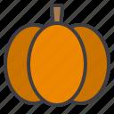food, fruit, healthy, pumpkin, vegetable icon