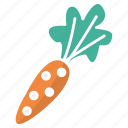 carrot, food, rabbit, vegetable icon