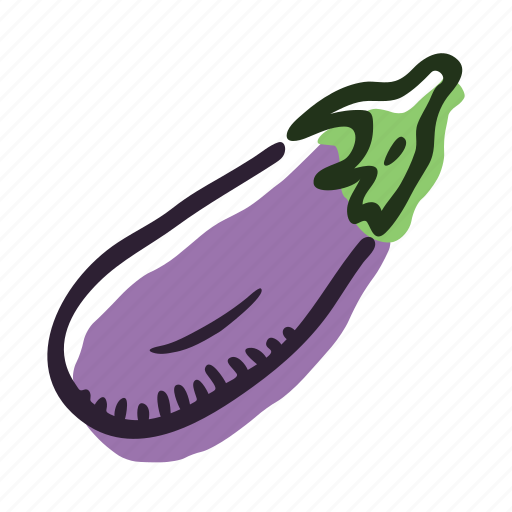 eggplant, field, food, garden, healthy, vegetable icon