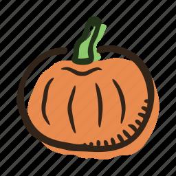 food, garden, healthy, pumpkin, vegetable icon